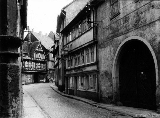 Gotha - Fritzelsgasse - 1978