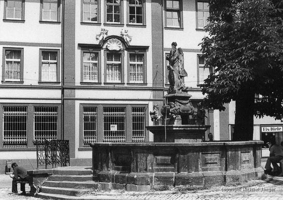 Gotha - Hauptmarkt - Schellenbrunnen - 1983
