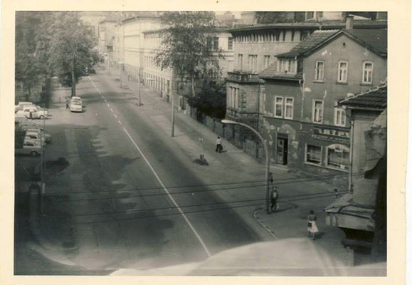 Gotha - Justus Perthes Str. 80er Jahre -  Quelle: Thomas Günther / facebook