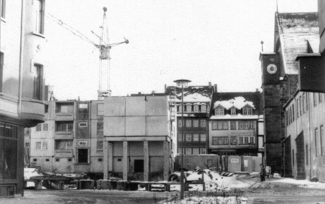 Gotha - Klosterplatz - 80er Jahre
