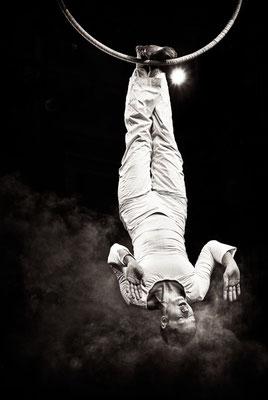 Akrobatik mit Mira Mas beim Gothardusfest in Gotha