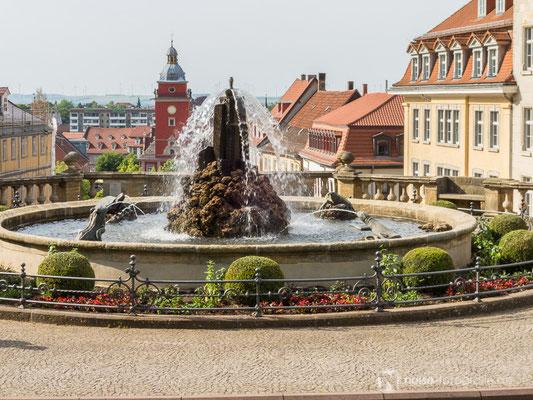 Gotha Wasserkunst /Rathaus 2014