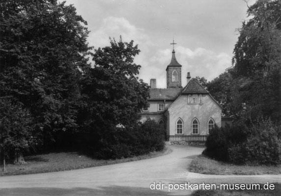 Gotha - Teeschlösschen 1974