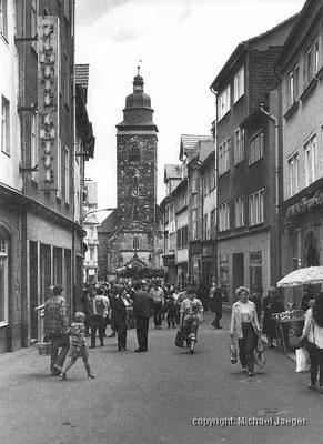 Gotha - Marktstrasse - 1983