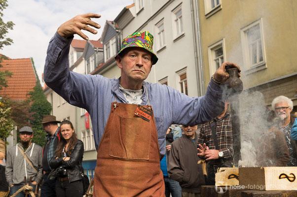 """19. Internationales Metallgestaltertreffen """"Gotha glüht"""" - Motto: Farbig"""