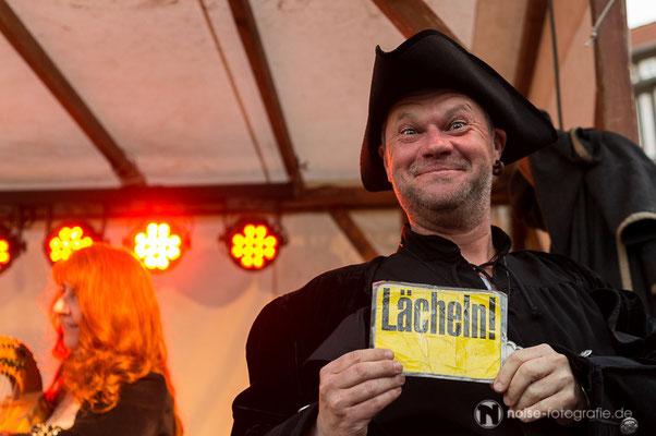 Mittelalterlichen Treiben beim Gothardusfest 2016 auf dem Gothaer Buttermarkt