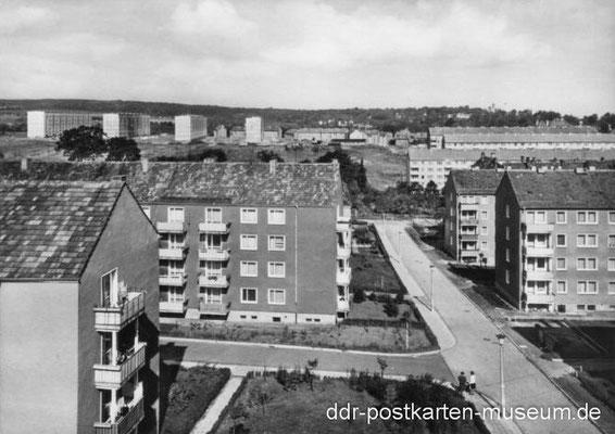 Gotha - Westviertel 1967