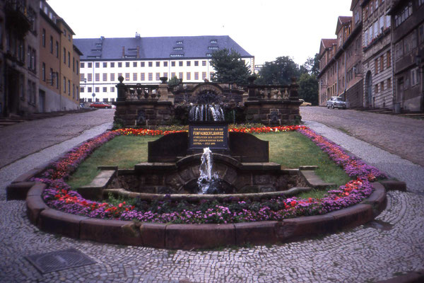 Gotha Wasserkunst 1989 - CC BY-SA 2.0 sludgegulper/flickr