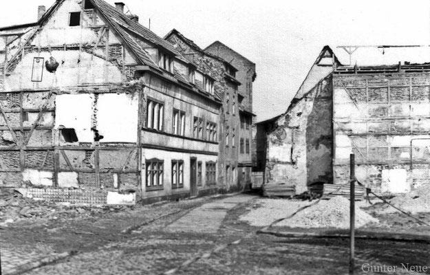 Gotha - Gerbergasse - 1986