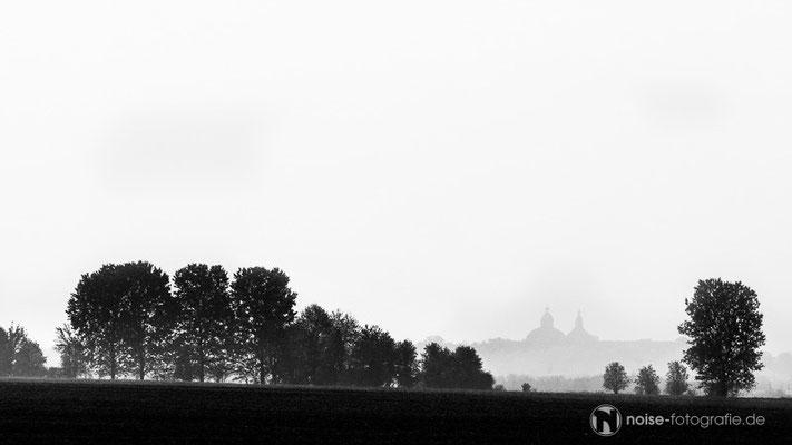 Gotha im Nebel