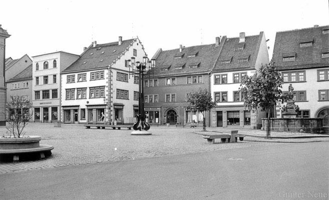 Gotha - Hauptmarkt - 1987