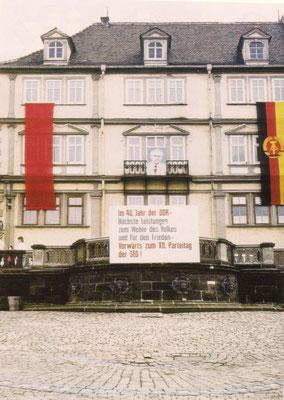 Gotha oberer Hauptmarkt 1989 - CC BY-NC-ND 3.0 DE / Klaus Peter Albrecht