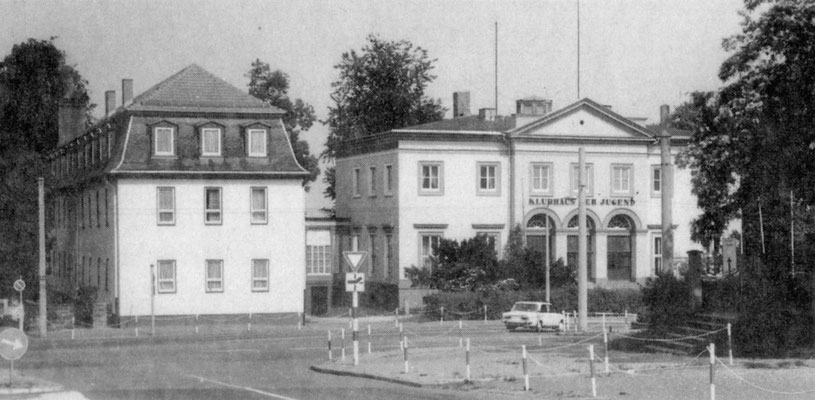 Klubhaus der Jugend / Prinzenpalais 1985 Quelle: Broschüre - Gotha Das Tor zum Thüringer Wald