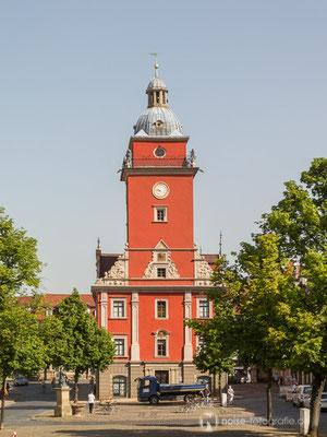 Gotha Hauptmarkt / Rathaus 2014