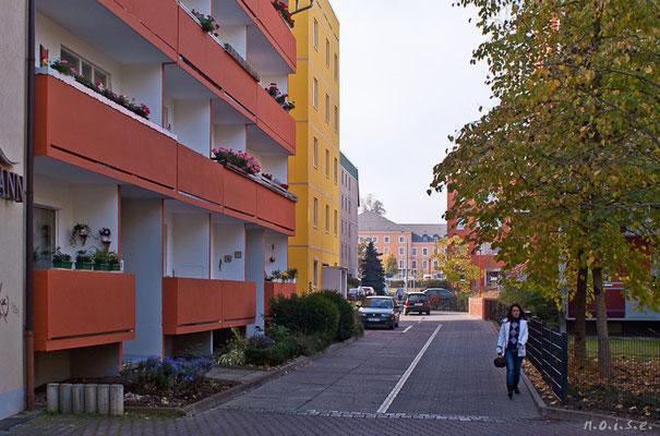 Gotha - Fritzelsgasse von der Blumenbachstrasse zur Bürgeraue - 2010