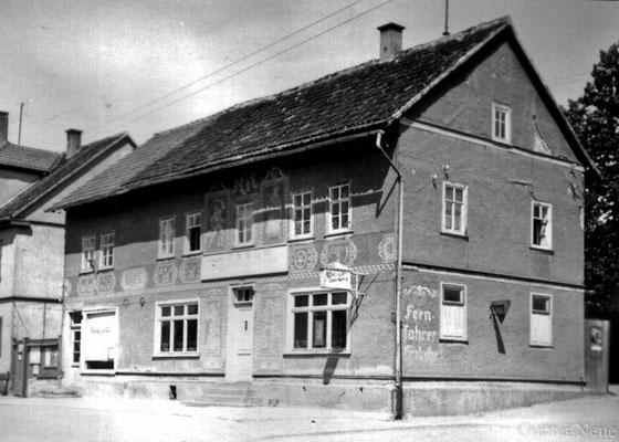 """Gasthof """"Vier Jahreszeiten"""" 1957"""