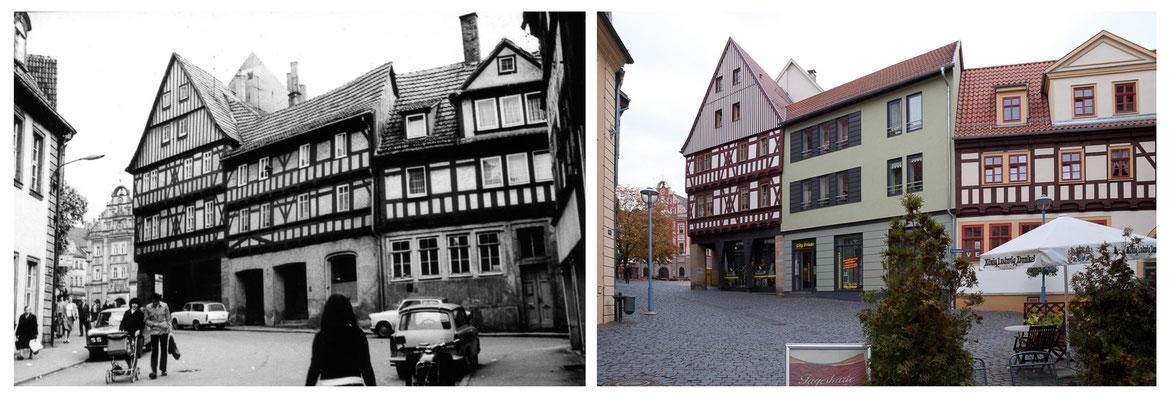 Gotha - Brühl - 1978 / 2010 - DDR 80'er Jahre im Vergleich zu heute - Gotha Gestern und Heute