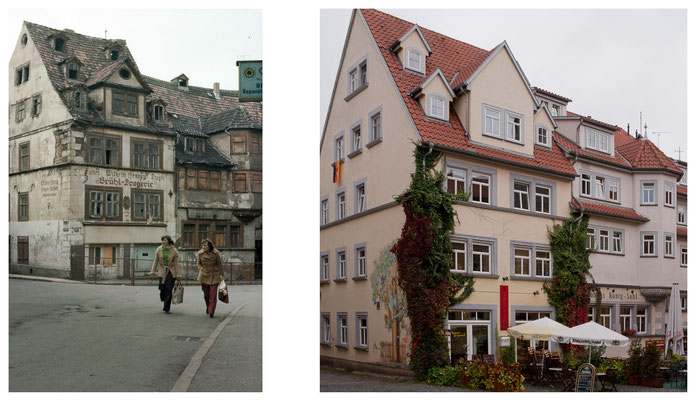 Gotha - Brühl - 1979 / 2010 - DDR 80'er Jahre im Vergleich zu heute - Gotha Gestern und Heute
