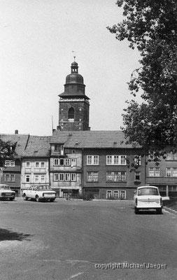 Gotha - Blick zur Margarethenkirche - 1982