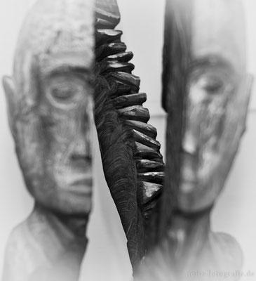 Skulptur von Rudi Franke bei der Ausstellung DADO 5