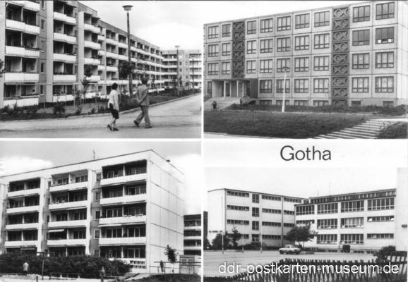 Gotha - Westviertel 1980