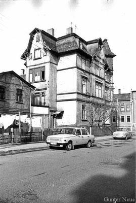 Gotha - Heinestrasse - Haus Stiebritz 1985