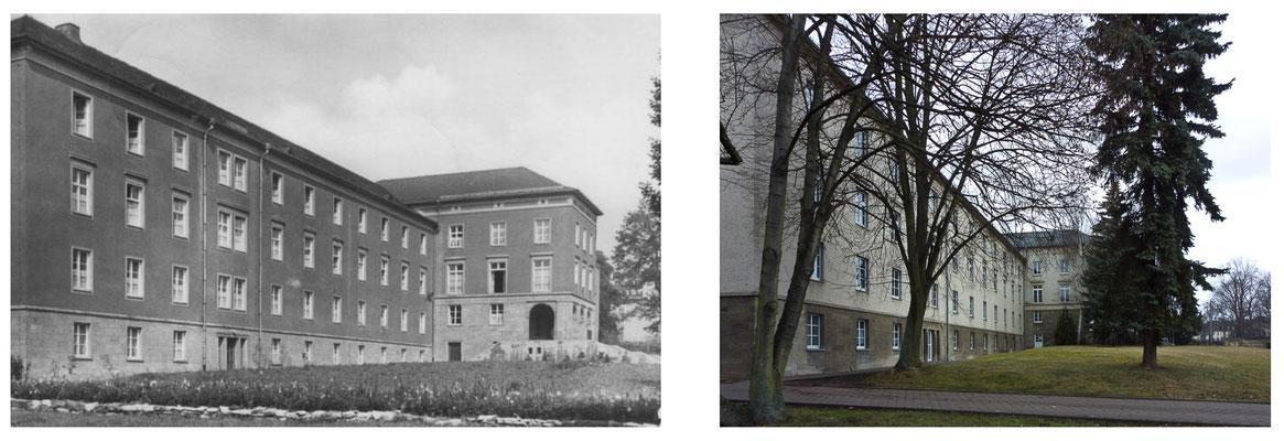 Gotha Bahnhofstrasse DDR 1964 / 2014 - DDR 80'er Jahre im Vergleich zu heute - Gotha Gestern und Heute