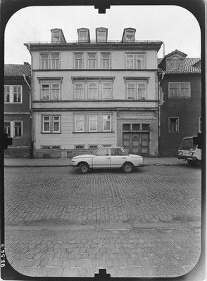 Gotha Schwabhäuser Strasse DDR 80'er Jahre / Quelle: http://www.deutschefotothek.de
