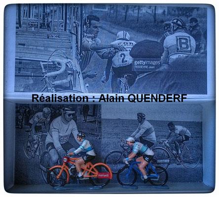 1965 - l'exploit de Jacques Anquetil - Vainqueur de Bordeaux-Paris le lendemain du Dauphiné