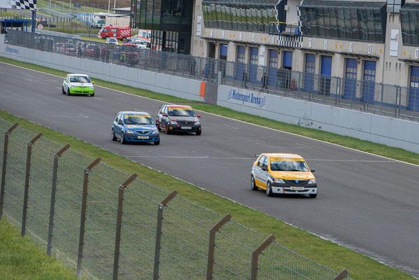 ADAC Bördesprint Cup 7.Lauf ADAC Logan Cup Dennis Bröker / Lucian Aron Pfister Racing #211