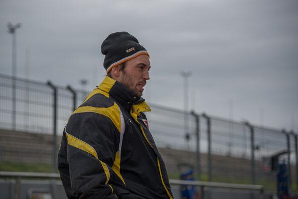 Teamchef und 2 facher Tourenwagen Vizeeuropameister Andreas Pfister vom Pfister-Racing Team