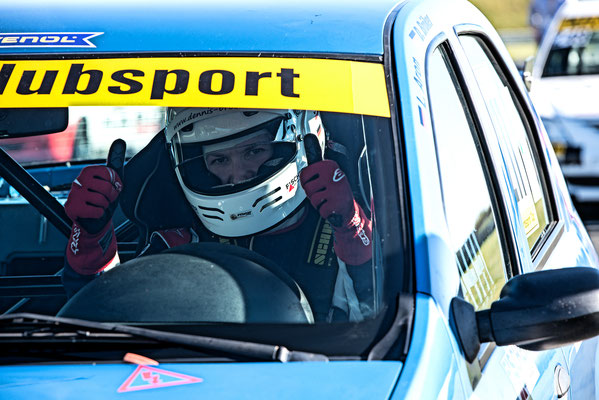 Dennis Bröker freut sich auf den 6.Meisterschaftslauf des ADAC Dacia Logan Cup
