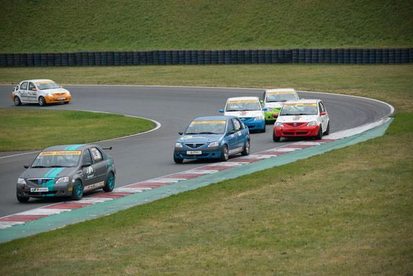 ADAC Dacia Logan Cup Motorsportarena Oschersleben 2018 Insgesamt 10 Rennen