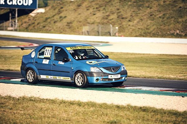 ADAC Dacia Logan Cup Pfister Racing #211 Dennis Bröker / Lucian Aron