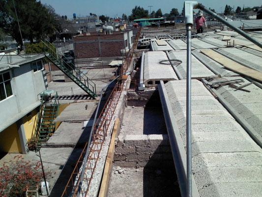 Losa para el Instituto Americano Cultural, Vía Morelos