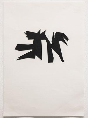 Beate Gärtner | Essen II | 2012 | Papier | 21x29,7cm |  Foto@Bracht Fotografie