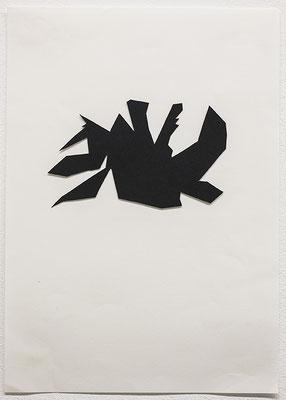 Beate Gärtner | Essen I, | 2012 | Papier | 21x29,7cm | Foto@Bracht Fotografie