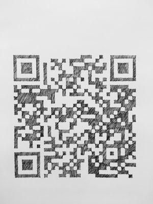 beategärtner|2019|Variationen|Tinte auf Büttenpapier|ca. 62x50 cm