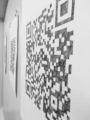 beategärtner|2019|Ausstellungsansicht|Tinte auf Büttenpapier|ca. 62x50 cm
