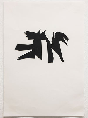 Beate Gärtner | Essen II | 2012 | paper | 21x29,7cm | Foto@Bracht Fotografie