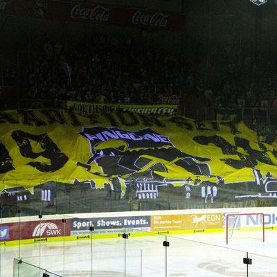 Werbebanner Tribüne Choreo Fan Banner von Feld Textil GmbH Krefeld