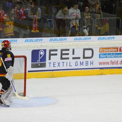 Werbebanner Bandenwerbung Eishockey PVC Frontlit von Feld Textil GmbH Krefeld