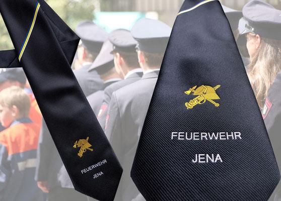 Feuerwehrkrawatte Stadt Jena