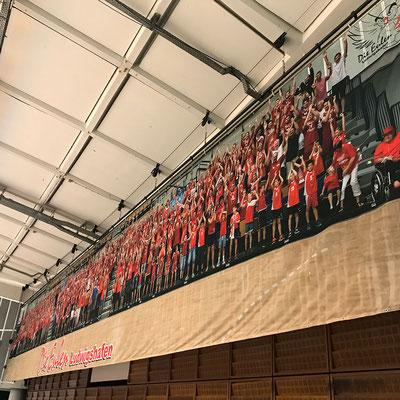 Werbebanner Großformatbanner Wandbedeckung Dekostoff von Feld Textil GmbH Krefeld