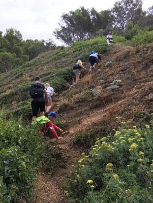Abentuer erleben bei Wandern und Klettern