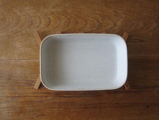 グラタン皿もこの通り。