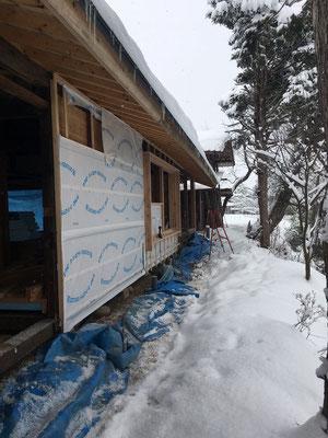 雪の中外回りからテンポよく進めて下さいました。