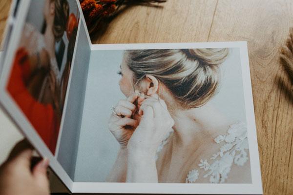 edle Hochzeitsalben individuell gestaltet direkt vom Fotografen