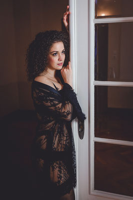 Boudoir Fotoshooting Onlocation Intimate Stylistin