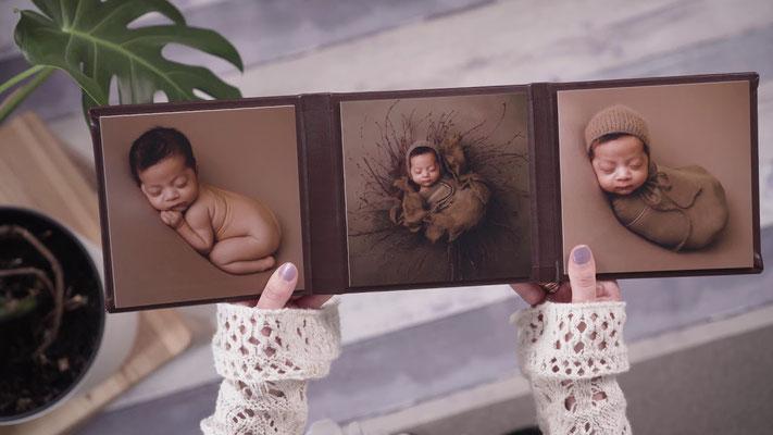 Triplex handgefertigt Fotoaufsteller